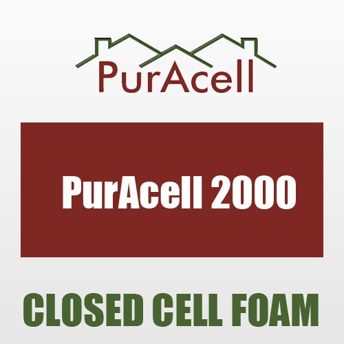 Puracell 2000 closed cell spray foam