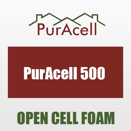 puracell 500 spray foam insulation